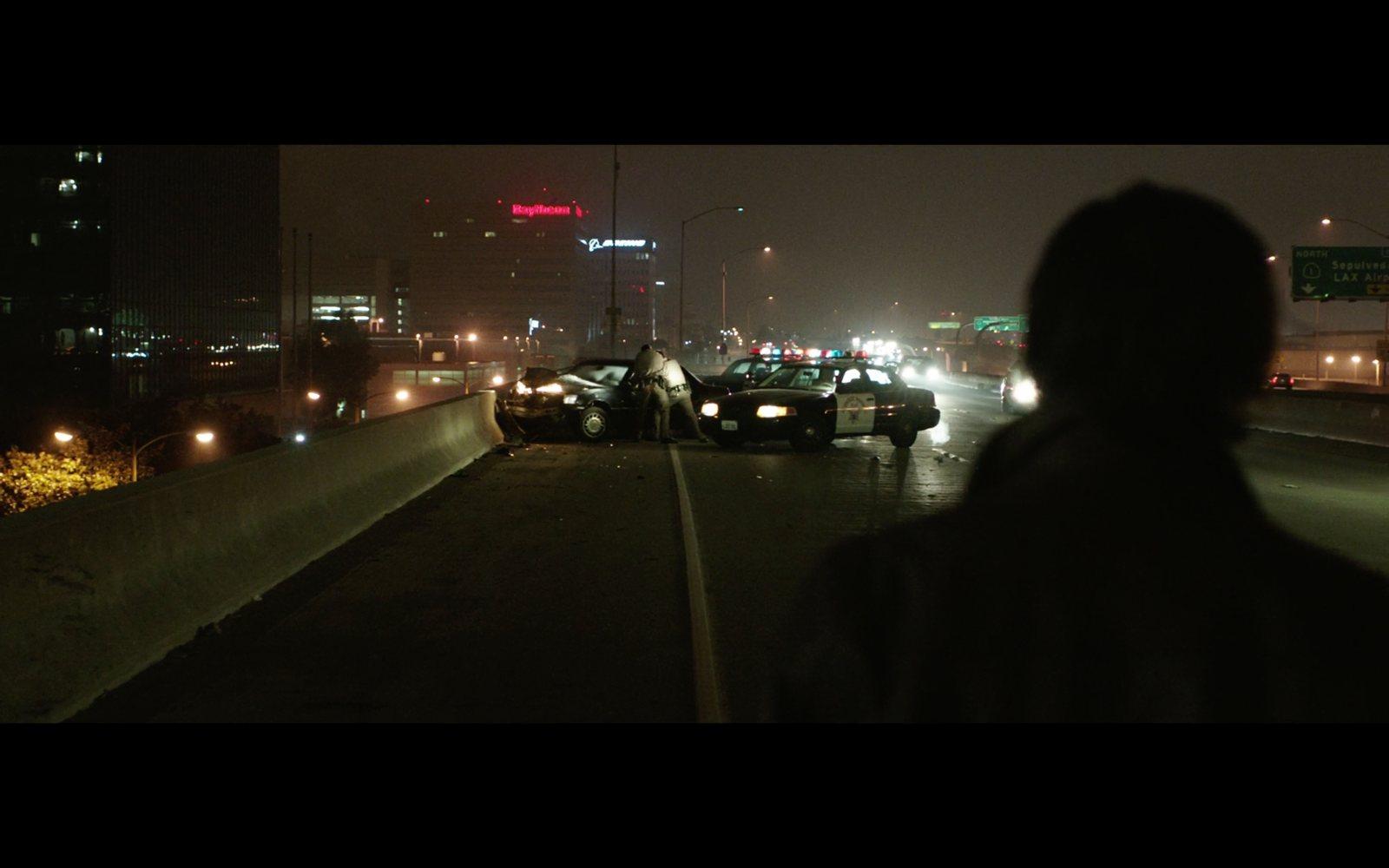 Nightcrawler Car Crash Scene